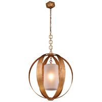 Elegant Lighting 1508D30GI Serenity 1 Light 30 inch Golden Iron Pendant Ceiling Light Urban Classic