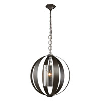 Elegant Lighting 1508D30VB Serenity 1 Light 30 inch Vintage Bronze Pendant Ceiling Light Urban Classic