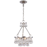 Elegant Lighting 1509D15PN Bettina 3 Light 15 inch Polished Nickel Pendant Ceiling Light Urban Classic