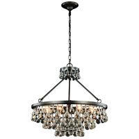 Elegant Lighting 1509D26BZ Bettina 8 Light 26 inch Bronze Pendant Ceiling Light Urban Classic