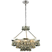 Elegant Lighting 1509D26PN Bettina 8 Light 26 inch Polished Nickel Pendant Ceiling Light Urban Classic