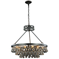 Elegant Lighting 1509D32BZ Bettina 10 Light 32 inch Bronze Pendant Ceiling Light Urban Classic