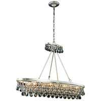 Elegant Lighting 1509G44SL Bettina 8 Light 13 inch Silver Leaf Pendant Ceiling Light Urban Classic