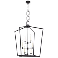 Elegant Lighting 1512D29VB Denmark 6 Light 29 inch Vintage Bronze Chandelier Ceiling Light, Urban Classic