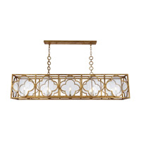 Trinity 10 Light 14 inch Golden Iron Chandelier Ceiling Light, Urban Classic