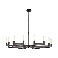 Corsica 16 Light 60 inch Bronze Chandelier Ceiling Light, Urban Classic