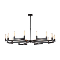 Corsica 16 Light 72 inch Bronze Chandelier Ceiling Light, Urban Classic
