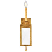 Elegant Lighting 1537W5GI Exeter 1 Light 5 inch Golden Iron Wall Sconce Wall Light, Urban Classic