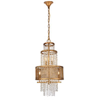 Elegant Lighting 1540D16GI Legacy 5 Light 16 inch Golden Iron Pendant Ceiling Light Urban Classic
