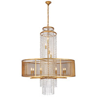 Elegant Lighting 1540G42GI Legacy 12 Light 42 inch Golden Iron Chandelier Ceiling Light Urban Classic