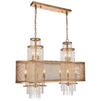 Elegant Lighting 1540G45GI Legacy 10 Light 16 inch Golden Iron Chandelier Ceiling Light Urban Classic