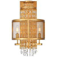 Elegant Lighting 1540W12GI Legacy 2 Light 12 inch Golden Iron Wall Sconce Wall Light Urban Classic
