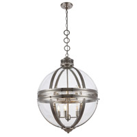 Elegant Lighting 1700D24SN Casanova 6 Light 24 inch Satin Nickel Chandelier Ceiling Light Urban Classic