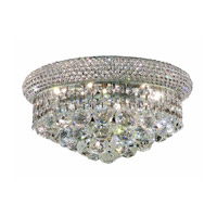 Elegant Lighting Primo 6 Light Flush Mount in Chrome with Royal Cut Clear Crystal 1800F14C/RC alternative photo thumbnail
