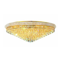 Elegant Lighting Primo 30 Light Flush Mount in Gold with Spectra Swarovski Clear Crystal 1800F42G/SA alternative photo thumbnail