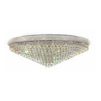 Elegant Lighting Primo 33 Light Flush Mount in Chrome with Spectra Swarovski Clear Crystal 1800F48C/SA alternative photo thumbnail