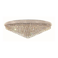 Elegant Lighting V1800F48C/SS Primo 33 Light 48 inch Chrome Flush Mount Ceiling Light in Swarovski Strass alternative photo thumbnail
