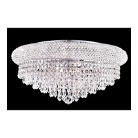 Elegant Lighting 1802F20C/EC Primo 10 Light 20 inch Chrome Flush Mount Ceiling Light in Elegant Cut alternative photo thumbnail