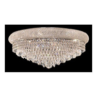 Elegant Lighting Primo 12 Light Flush Mount in Chrome with Royal Cut Clear Crystal 1802F24C/RC alternative photo thumbnail
