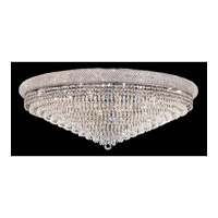Elegant Lighting Primo 30 Light Flush Mount in Chrome with Spectra Swarovski Clear Crystal 1802F42C/SA alternative photo thumbnail