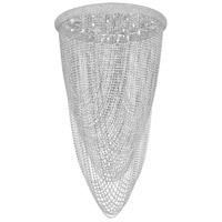 Elegant Lighting Primo 20 Light Flush Mount in Chrome with Swarovski Strass Clear Crystal 1806F36C/SS