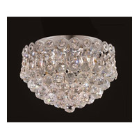 Elegant Lighting Century 3 Light Flush Mount in Chrome with Royal Cut Clear Crystal 1901F10C/RC alternative photo thumbnail