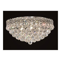 Elegant Lighting 1901F18C/SS Century 6 Light 18 inch Chrome Flush Mount Ceiling Light in Swarovski Strass alternative photo thumbnail