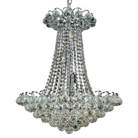 Elegant Lighting Godiva 13 Light Dining Chandelier in Chrome with Royal Cut Clear Crystal 2001D21C/RC alternative photo thumbnail