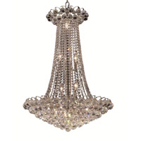 Elegant Lighting Godiva 15 Light Dining Chandelier in Chrome with Royal Cut Clear Crystal 2001D27C/RC alternative photo thumbnail