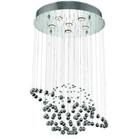 Elegant Lighting Galaxy 6 Light Dining Chandelier in Chrome with Elegant Cut Clear Crystal 2004D22C/EC alternative photo thumbnail
