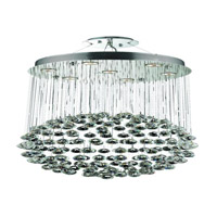 Elegant Lighting Galaxy 7 Light Dining Chandelier in Chrome with Elegant Cut Clear Crystal 2005D20C/EC alternative photo thumbnail