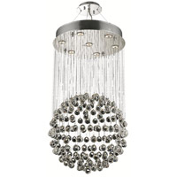 Elegant Lighting Galaxy 7 Light Dining Chandelier in Chrome with Royal Cut Clear Crystal 2005D20C/RC alternative photo thumbnail