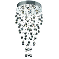 Elegant Lighting Galaxy 6 Light Dining Chandelier in Chrome with Royal Cut Clear Crystal 2006D18C/RC alternative photo thumbnail