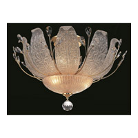 Elegant Lighting Orchid 11 Light Flush Mount in Gold with Elegant Cut Clear Crystal 2010F27G/EC alternative photo thumbnail