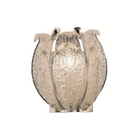 Elegant Lighting Orchid 1 Light Wall Sconce in Chrome with Elegant Cut Clear Crystal 2010W11C/EC