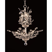 Elegant Lighting Orchid 8 Light Dining Chandelier in Chrome with Swarovski Strass Clear Crystal 2011D21C/SS alternative photo thumbnail