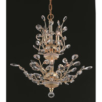 Elegant Lighting Orchid 8 Light Dining Chandelier in Gold with Spectra Swarovski Clear Crystal 2011D21G/SA alternative photo thumbnail