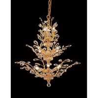 Elegant Lighting Orchid 13 Light Dining Chandelier in Gold with Royal Cut Clear Crystal 2011D27G/RC alternative photo thumbnail