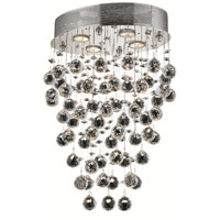 Elegant Lighting Galaxy 4 Light Dining Chandelier in Chrome with Elegant Cut Clear Crystal 2022D16C/EC alternative photo thumbnail