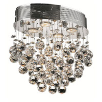 Elegant Lighting Galaxy 4 Light Flush Mount in Chrome with Royal Cut Clear Crystal 2022F16C/RC alternative photo thumbnail