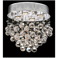 Elegant Lighting V2022F16C/EC Galaxy 4 Light 12 inch Chrome Flush Mount Ceiling Light in Elegant Cut alternative photo thumbnail