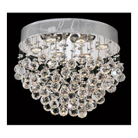 Elegant Lighting V2022F20C/RC Galaxy 6 Light 14 inch Chrome Flush Mount Ceiling Light in Royal Cut alternative photo thumbnail