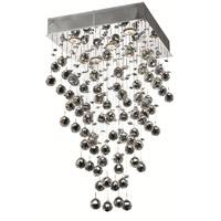 Elegant Lighting Galaxy 5 Light Dining Chandelier in Chrome with Spectra Swarovski Clear Crystal 2023D16C/SA