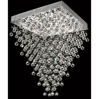Elegant Lighting Galaxy 10 Light Dining Chandelier in Chrome with Spectra Swarovski Clear Crystal 2023D28C/SA alternative photo thumbnail