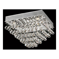 Elegant Lighting Galaxy 5 Light Flush Mount in Chrome with Royal Cut Clear Crystal 2023F20C/RC alternative photo thumbnail