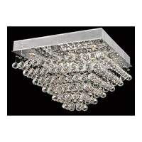 Elegant Lighting Galaxy 8 Light Flush Mount in Chrome with Royal Cut Clear Crystal 2023F24C/RC alternative photo thumbnail
