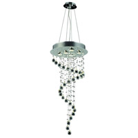 Elegant Lighting V2028G36C/RC Galaxy 5 Light 16 inch Chrome Foyer Ceiling Light in Clear