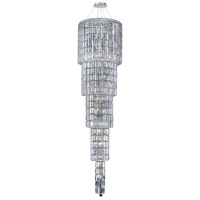 Elegant Lighting Maxim 22 Light Foyer in Chrome with Spectra Swarovski Clear Crystal 2030G80C/SA