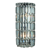 Elegant Lighting Maxim 2 Light Wall Sconce in Chrome with Spectra Swarovski Clear Crystal 2030W8C/SA alternative photo thumbnail