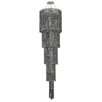 Elegant Lighting Maxim 22 Light Foyer in Chrome with Swarovski Strass Silver Shade Crystal 2031G80C-SS/SS